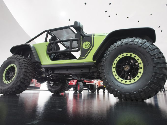 The TrailCat has a Mean Stance - Photo Credit The Detroit News