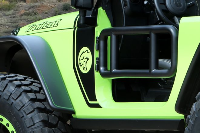 The Jeep Trailcat Concept - includes Tube Doors - Photo Courtesy FourWheeler