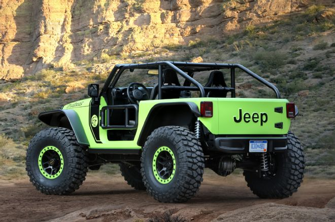 The Jeep Trailcat Hellcat Powered Concept - Photo Courtesy FourWheeler