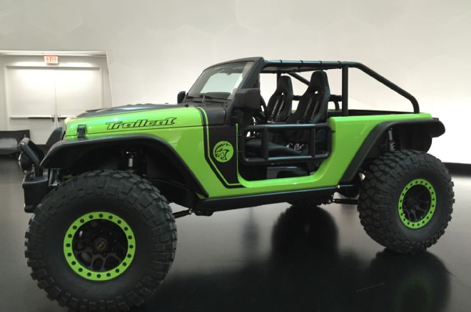 The TrailCat includes a Chopped Roof Line - Photo Credit The Detroit News