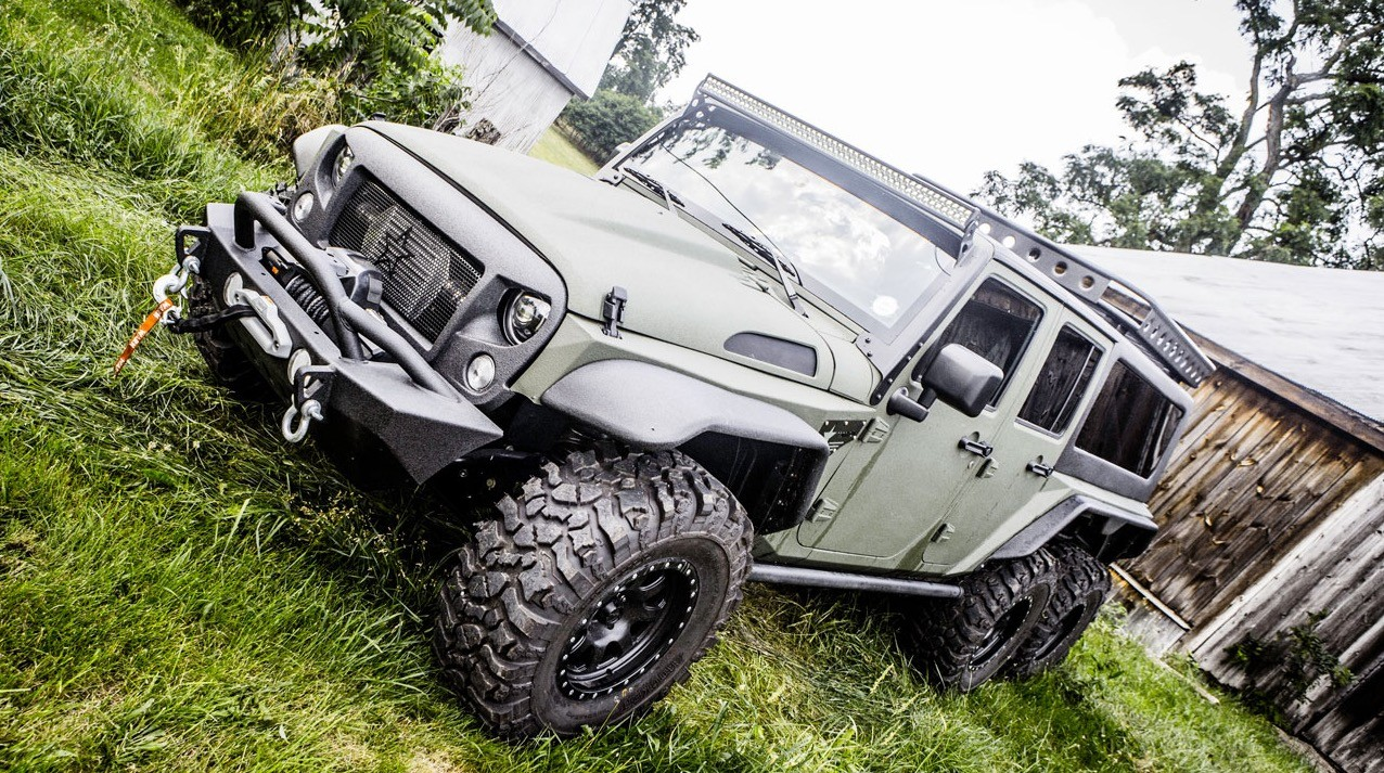 Another 66 Jeep Wrangler Enters The Market But This One Is Chinese Expo G Patton Tomahawk A