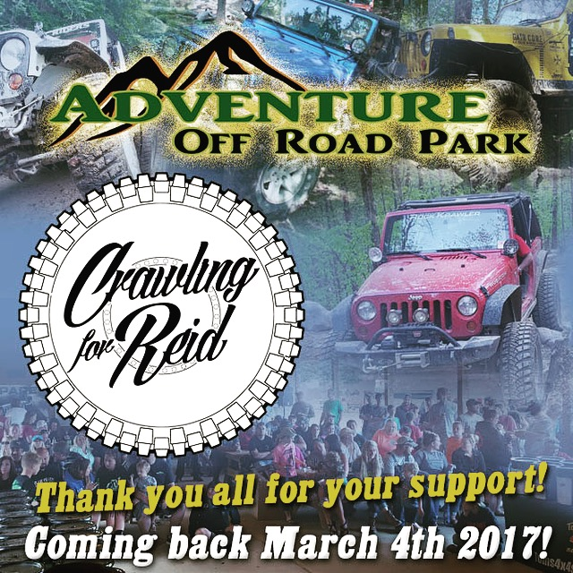 Crawling For Reid @ Adventure Offroad Park | | |