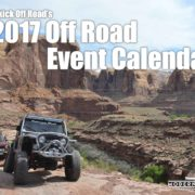It's Here! The 2017 ModernJeeper Off Road Event Calendar.