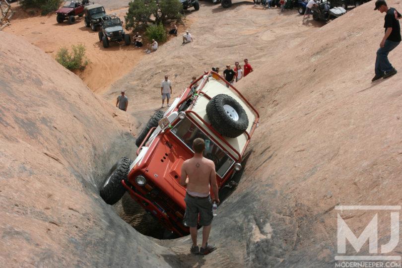 The Escalator on Hells Revenge claims many vehicles....