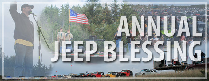 16th annual Jeep Blessing @ Ellens corners      