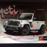 Meet the Yeti… a slammed Jeep project.