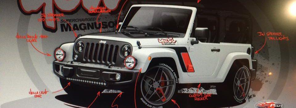 Meet The Yeti A Slammed Jeep Project