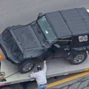 SPY SHOT: JL Wrangler Getting Towed – Ooops!