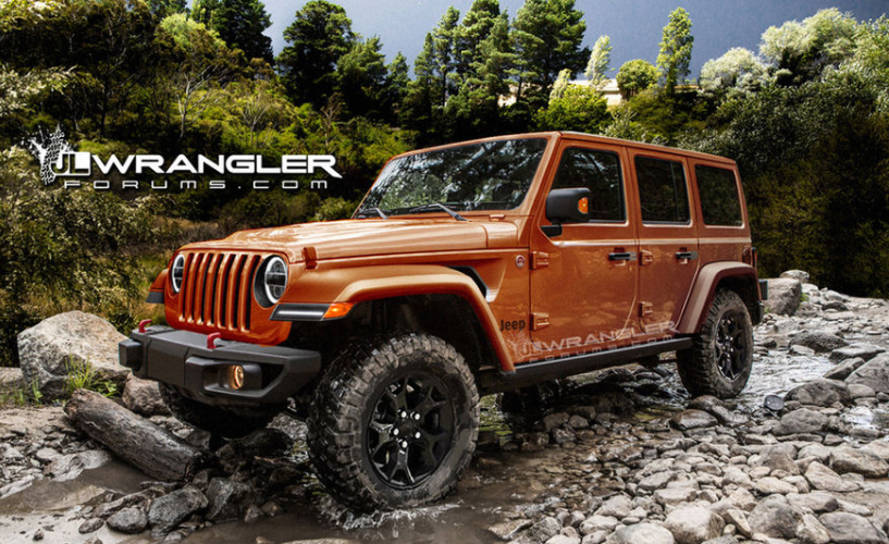 New Renderings of the Next Gen Jeep? Amazing!