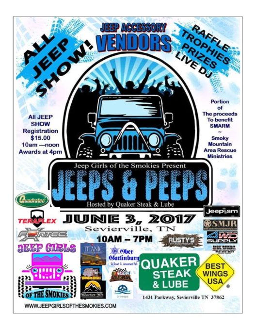 Jeeps & Peeps @ Jeep Girls of the Smokies | | |