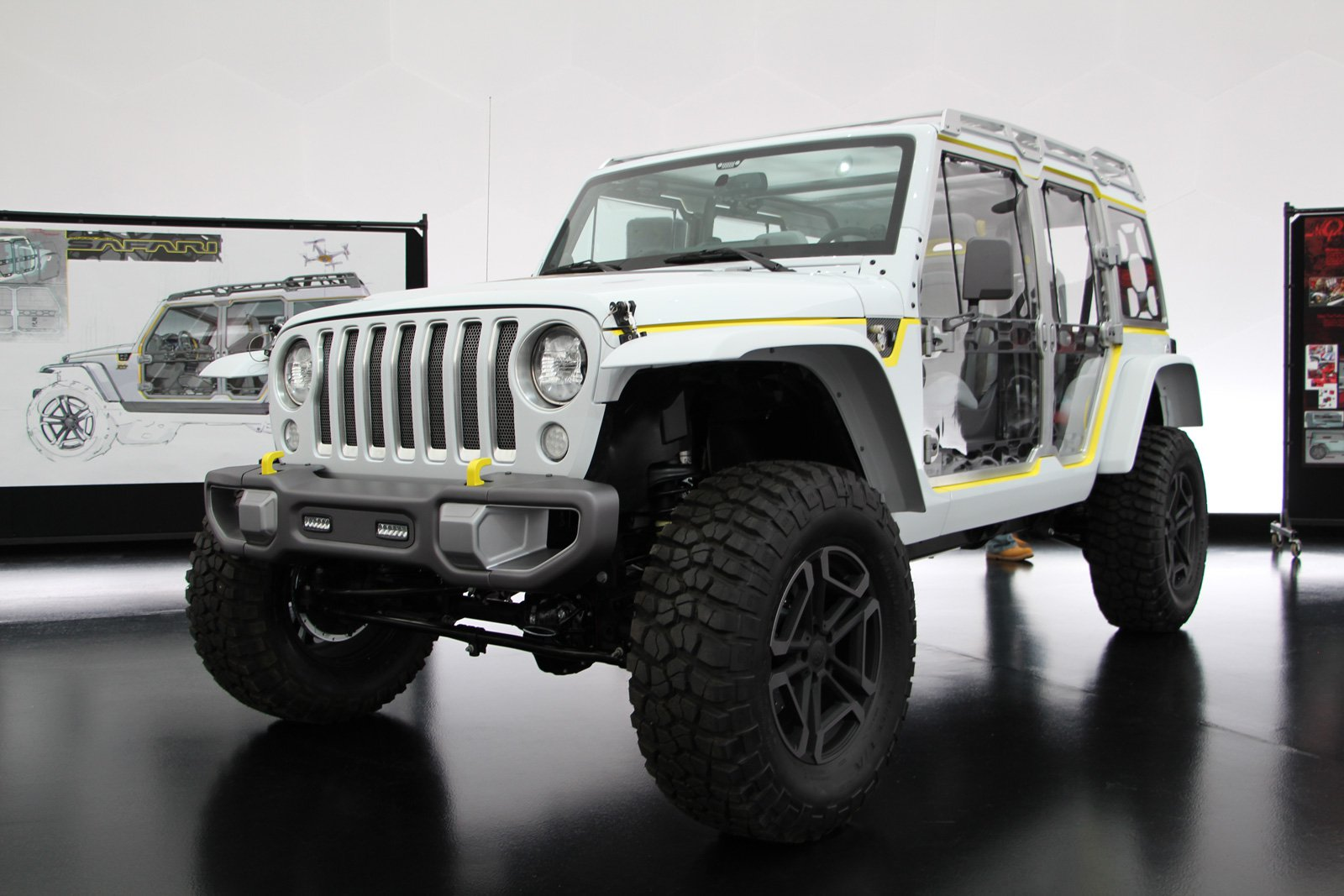 seven concept jeeps you will definitely see at easter jeep safari modern jeeper. Black Bedroom Furniture Sets. Home Design Ideas