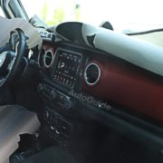 2018 Jeep Wrangler Interior Caught on Camera
