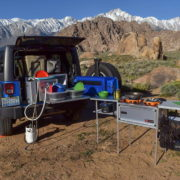 Overlanding? Get A Portable Kitchen in your Jeep!