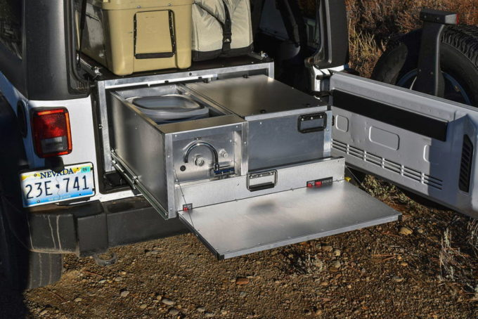 Overlanding Get A Portable Kitchen In Your Jeep Modern