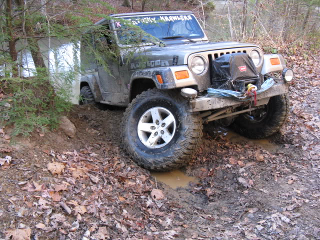 Broke Ball Joint on Trail TJ