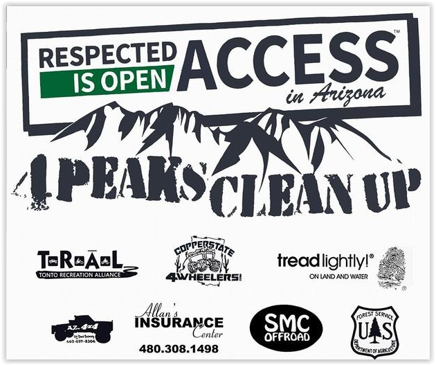 Four Peaks Cleanup @ Four Peaks Cleanup | | |