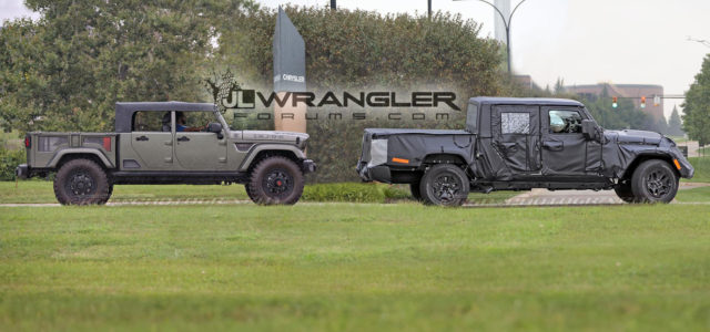 SPIED: [video]: Jeep Scrambler – See the Truck in Action