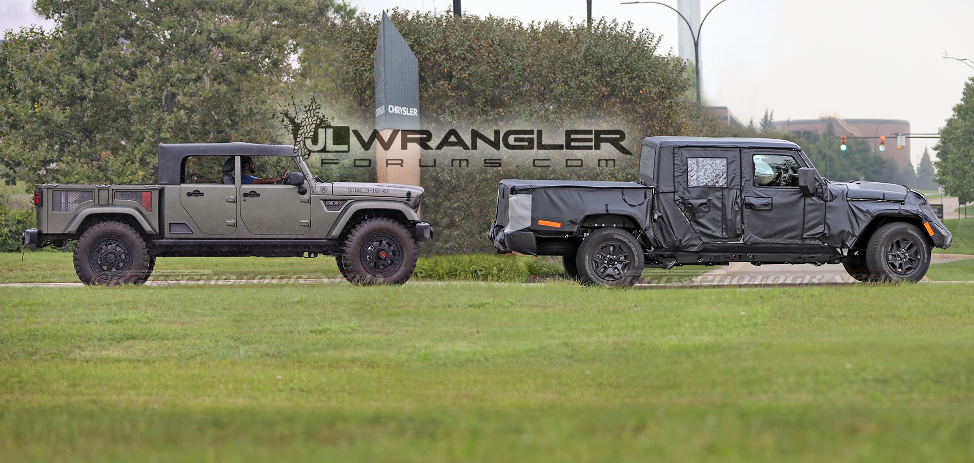 spied   video   jeep scrambler  u2013 see the truck in action