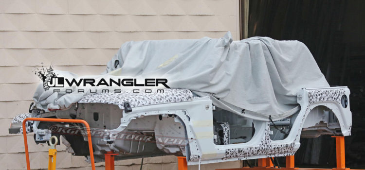 SPIED: JL Wrangler Unlimited – The Shell Exposed!