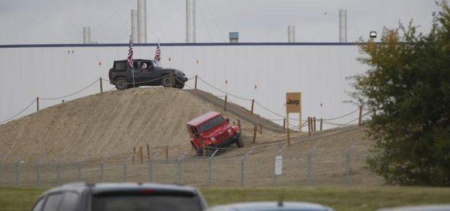 Jeep's New Employee Playground