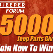 ModernJeeperForum's $5000 Jeep Parts Giveaway!