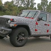 SPIED: [pics] The Wrap Starts Coming Off of the Next Generation Wrangler