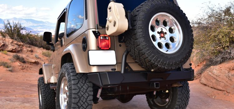 """SAHARA"" Gets a Metalcloak Tire Carrier and ""Ditomic"" Gas Tank Skid"
