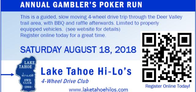 28th Annual Gambler's Poker Run