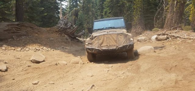 """SPIED: [pics] JT """"Scrambler"""" Truck Spotted on the Rubicon"""