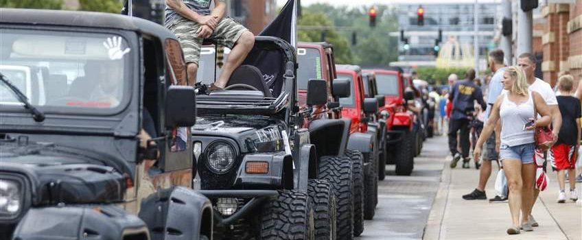 [pics] Jeeps Invade Toledo Raising $600,000