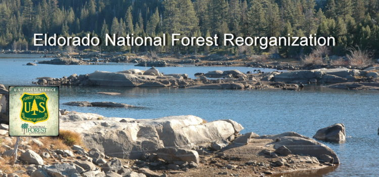 "Eldo National Forest Reorg:  ""care for the land and people"""