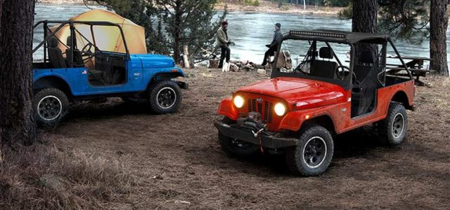 Jeep Takes Up Legal Arms Against Mahindra's Roxor