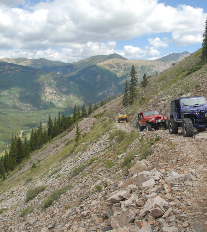 Shakin' Hands and Makin' Plans Keeps Us Jeepin'