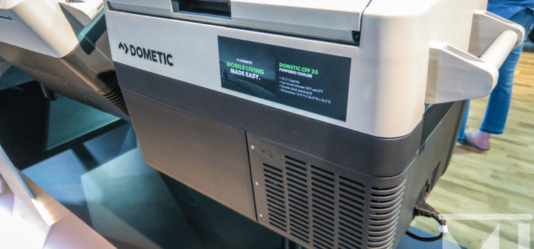 Dometic Shows Off Their New Fridge/Freezer!