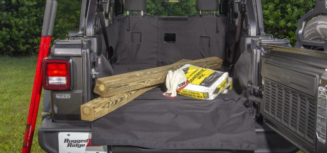 New JL Jeep Interior Accessories from Rugged Ridge