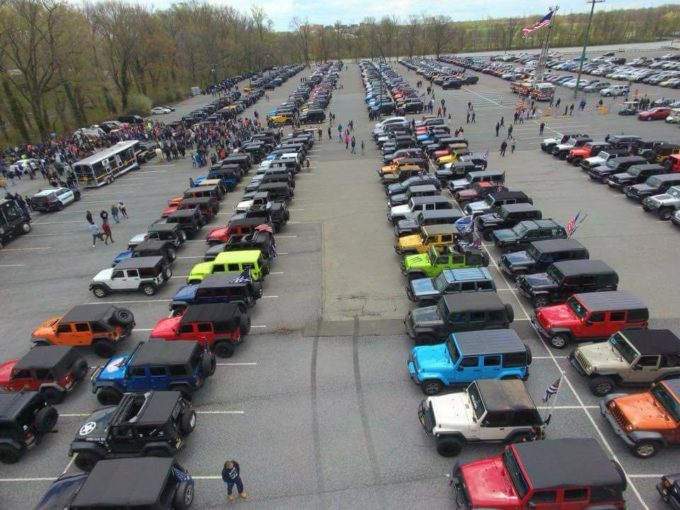 Jeepers Back the Blue Jamboree @ Dover International Speedway | | |