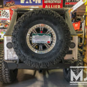 Mounting an 8-lug Wheel on a Rear Tire Carrier