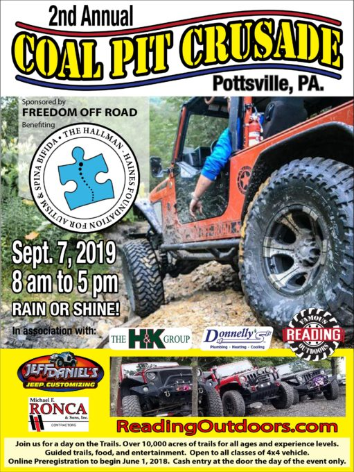Coal Pit Crusade for Autism Awareness @ Famous Reading Outdoors |  |  |
