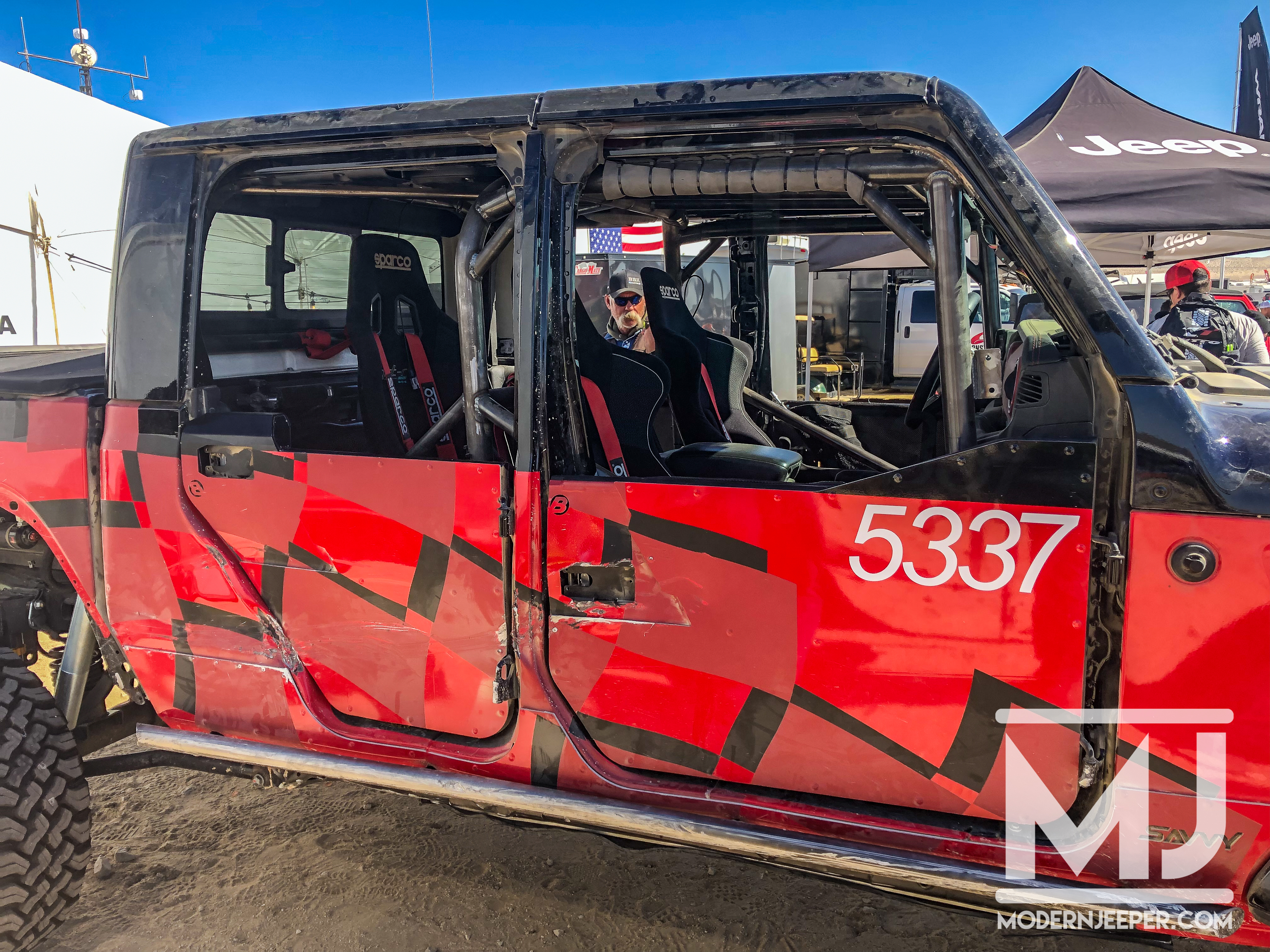 Pics Video The Gladiator Of Johnson Valley The Jeep Truck After Koh Modern Jeeper