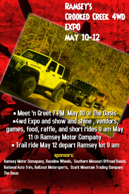 Ramsey's Crooked Creek 4wd Expo @ Ramsey Crooked Creek 4wd Expo | | |