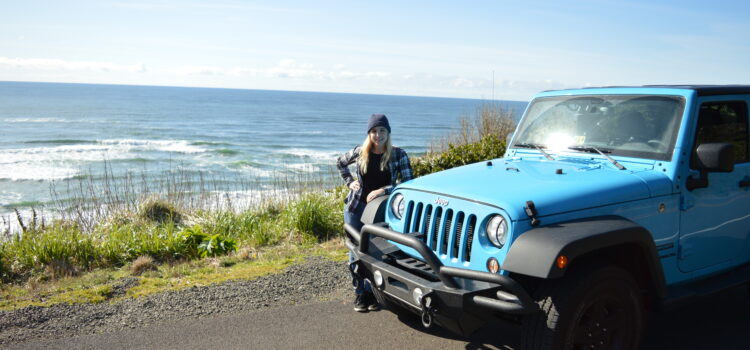 [catie's corner] Roadtripping with the Jeep Down the 101