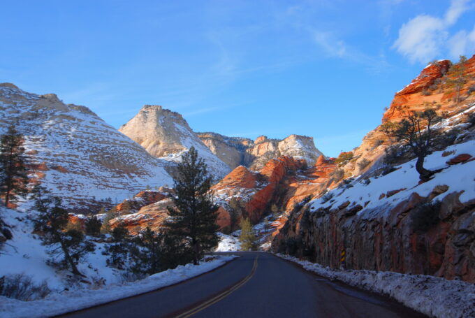 Zion National Park, Del Albright Photo