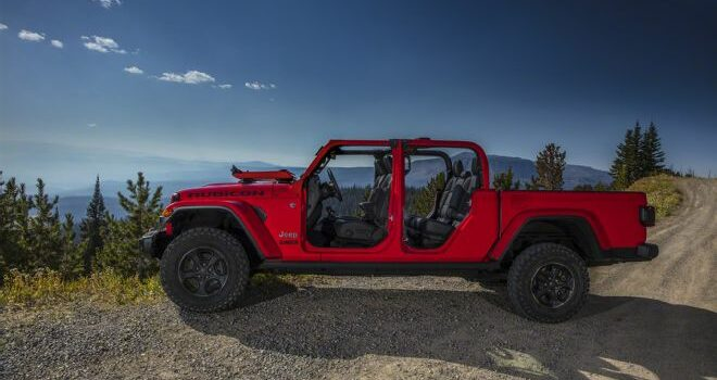 Coolest 2020 Truck Feature — Jeep Gladiator Fold Down Windshield