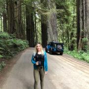 [catie's corner] Jeep Riding Through the Redwoods