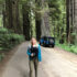 [catie's corner] Jeep Riding Through the Redwoods