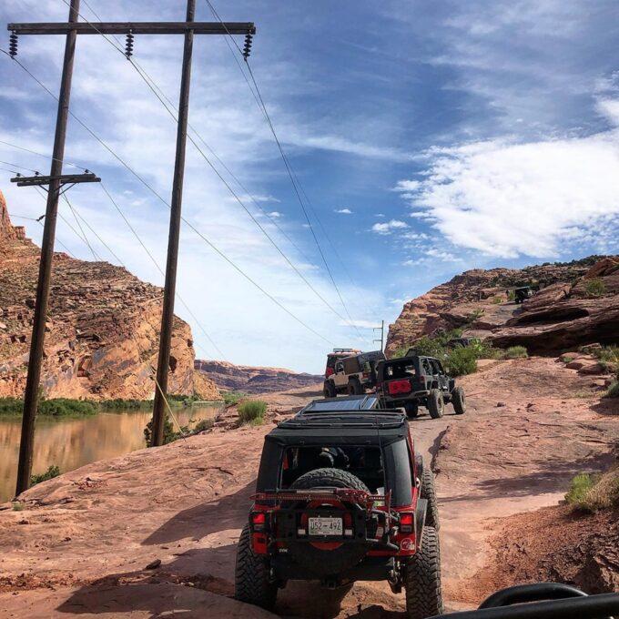 Entering Moab Rim