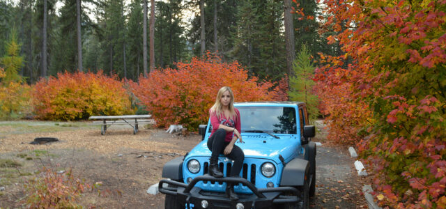 [catie's corner] Jeeping Through Fall in the PNW!