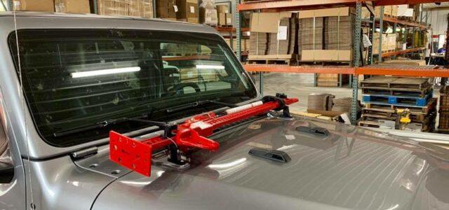 Hi-Lift Jack Hood Mount Compliments New Jeep Gladiator