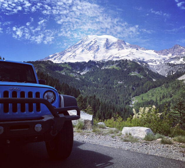 [catie's corner] Jeeping Around Mount Rainier!