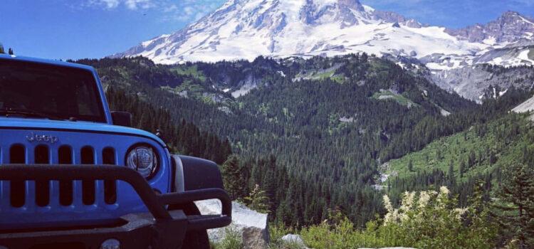 [catie's corner] Jeeping Around Mount Rainier!